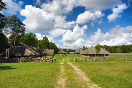 Old Lithuanian village