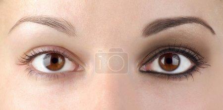 眼部化妆或无?_高清图片_邑石网